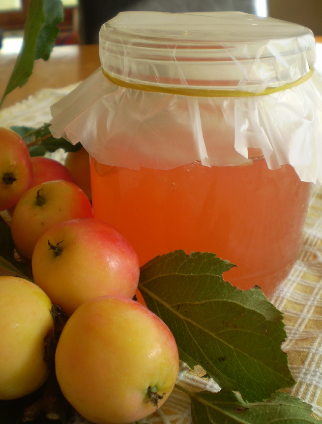 Crab Apple Jelly … mmm « Living the Good Life on 3 Acres in Nelson