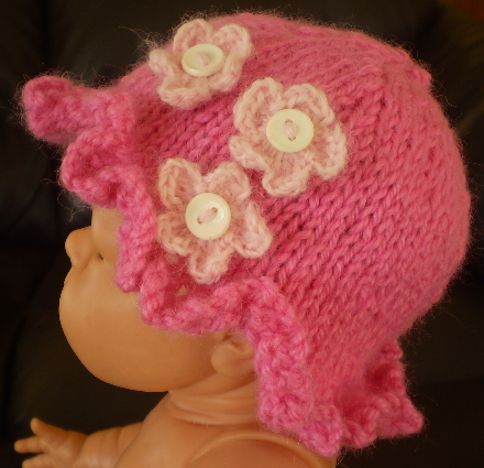 Free Knitting Patterns For Babies Nz Only : Adorable Knitted Baby Hat   Living the Good Life on 3 Acres in Nelson